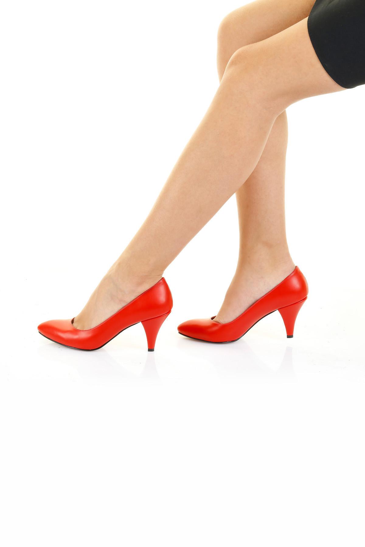 Kırmızı Cilt Stiletto