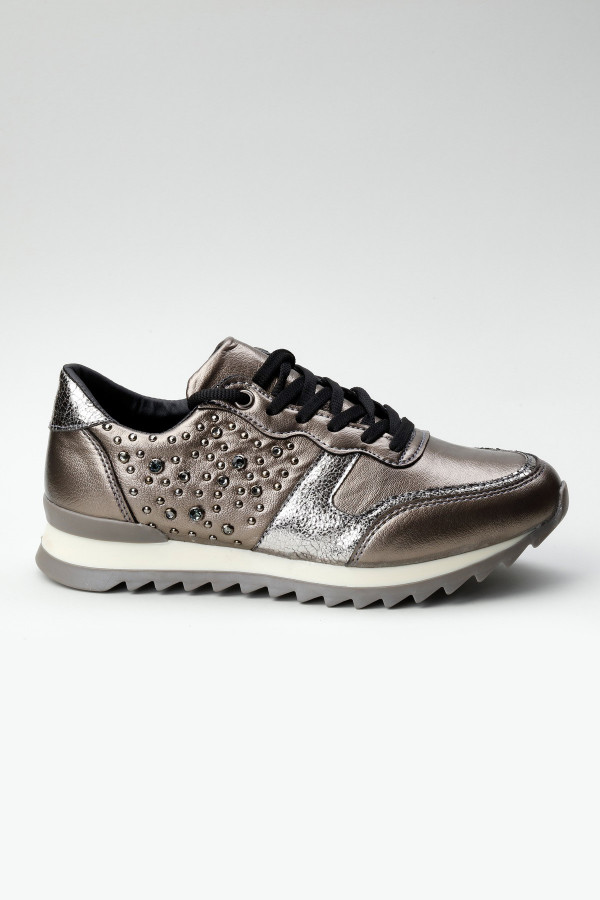 Kurşun Taşlı Kadın Spor Ayakkabı