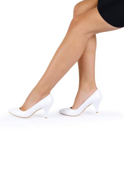Beyaz Cilt Stiletto