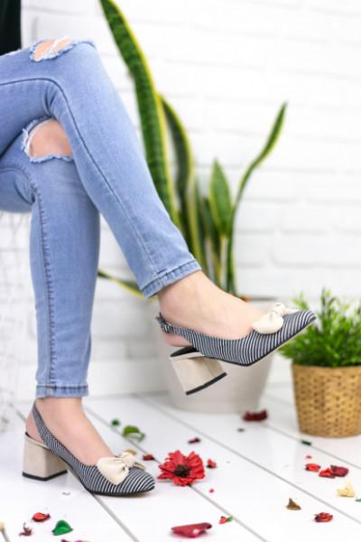 Rina Vizon Topuklu Ayakkabı