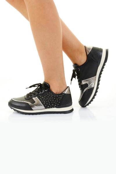 Wilma Siyah Ortopedik Bayan Spor Ayakkabı