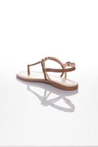 Altın Bronz İpli Sandalet