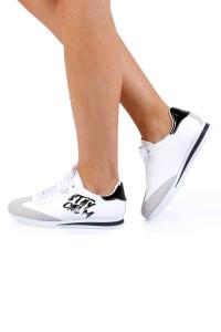 Daisy Beyaz Ortopedik Bayan Spor Ayakkabı