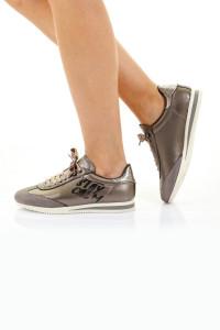 Daisy Kurşun Rengi Ortopedik Bayan Spor Ayakkabı