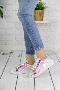 Payetli Spor Ayakkabı