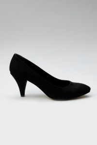 Siyah Süet Stiletto